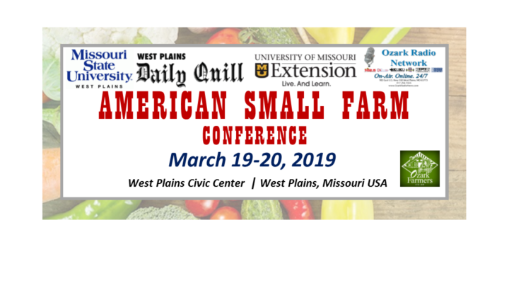 Small Farm Conference coming to West Plains, Mo.