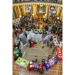 The Iowa Governor's STEM Advisory Council hosted STEM Day at the Capitol, with nearly 200 Iowans showcasing their contributions to STEM (science, technology, engineering and mathematics). (Courtesy of Iowa Governor's STEM Advisory Council)