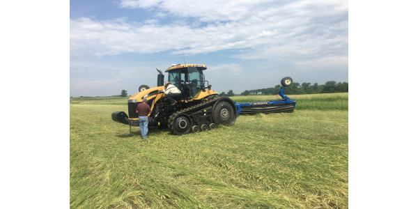 ISU part of grant to study no-till for organic grain