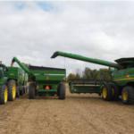2016 SMaRT trial harvest in progress. (Photo: Mike Staton, MSU Extension)
