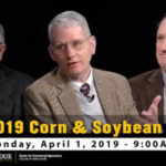 The Center for Commercial Agriculture will broadcast a 2019 Corn & Soybean Outlook Webinar on Monday, April 1, 2019 at 9 a.m. (EDT). (Courtesy of Purdue Extension)