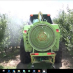Intelligent Spray Control System working in orchard. (Photo: Business Wire)