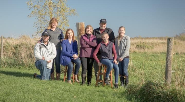 Cross Winds Dairy & Daughters earn DFA award