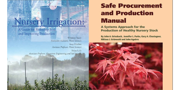 Free online books are available to improve irrigation and produce healthy nursery stock. (Courtesy of CNGA)