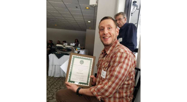 UNH student recognized for forestry research