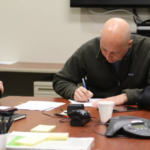 Gov. Ricketts signs and submits Nebraska's disaster relief request to FEMA. (Courtesy of Governor Pete Ricketts)