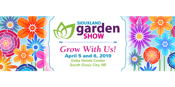 Just in time for spring, it's the Siouxland Garden Show on April 5 and 6 at the Delta Hotels Center in South Sioux City.