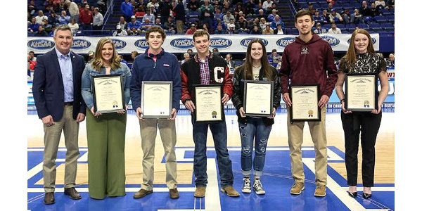 Quarles congratulates ag athletes on scholarships