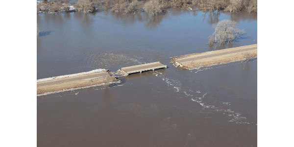 Ricketts and Scheer survey historic flooding