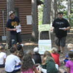 Youth learned about the value of cooperatives through a lemonade stand skit at a summer 2018 camp session. Farmers Union Camps offer all the fun of traditional summer camp with a special focus on cooperation. (Courtesy of WFU)