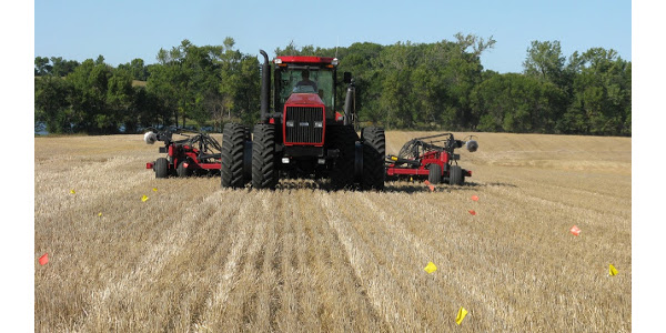 With planting season right around the corner, many farmers are looking at designing on-farm trials in some of their fields. (Courtesy of University of Minnesota Extension)