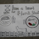 Gilmore City-Bradgate Elementary School taught by Kelsey Wigans. The student team of Graclyn Eastman, Avery Weydert, Lily Hoover, and Kaylee King submitted a poster promoting flank steaks.
