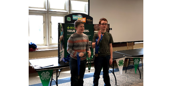 Known Challenge winners Reid Bennett and Matthew Barry. (Courtesy of University of Missouri Extension)
