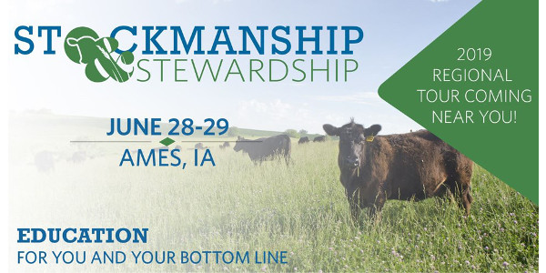 Stockmanship & Stewardship is a unique two-day educational experience featuring live low-stress cattle handling demonstrations, Beef Quality Assurance (BQA) training, and industry updates you won't find anywhere else. (Courtesy of Iowa Beef Industry Council)