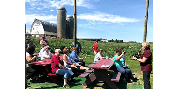 Resources, hands-on activities, and interactive ideas for integrating agriculture in your curriculum will be be discussed and shared.(https://minnesota.agclassroom.org/programs/tour.cfm)