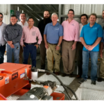 The Council and Missouri Corn partnered with swine producers in the Mexican state of Sonora to purchase the stingers, which will help unload U.S. DDGS efficiently. (Courtesy of U.S. Grains Council)