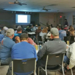 Kansas Cattlemen's Association (KCA), in partnership with Merck Animal Health, hosted a regional cattlemen's meeting in Yates Center, Kansas to discuss industry topics on the evening of March 26th. (Courtesy of KCA)