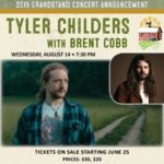 Tyler Childers will entertain audiences on the Grandstand stage on Wednesday, Aug. 14 with opener Brent Cobb. (Courtesy of Missouri State Fair)