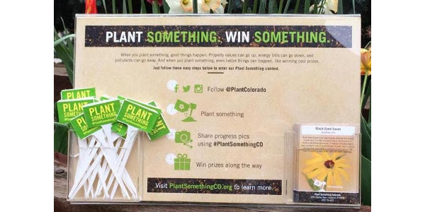 CNGA is getting ready to kick-off the 2019 Plant Something Colorado campaign. (Courtesy of CNGA)