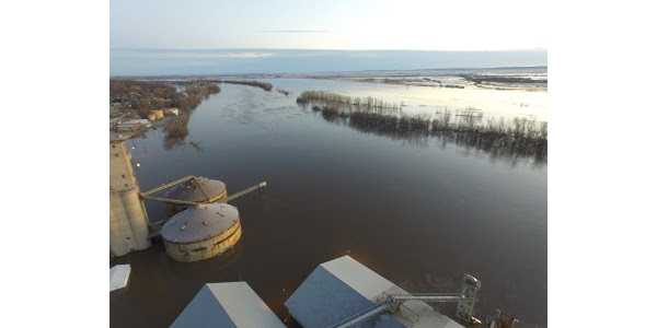 Farmers and ranchers were devastated by last month's storms, causing severe flooding in Nebraska, Iowa and South Dakota. (Courtesy of Colorado Farm Bureau)