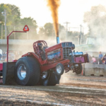 The season championships of the Outlaw Truck & Tractor Pullers Association, which will include the return of the popular Pro Stocks class, will serve as the grand finale in the Sleep Number Grandstand at the 2019 Clay County Fair. (Courtesy of Clay County Fair & Events Center)