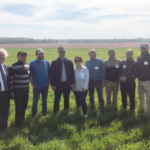 Wheat buyers from Morocco and Tunisia got an up close look at the intricacies and reliability of the U.S. grain infrastructure during the April 12-19 Cochran Fellowship Program's experience in Kansas and Texas. (Courtesy of Kansas Wheat)