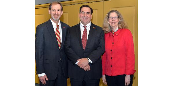 Senior Vice President Dan Matthews and Wendy Williams
