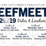 This year's BeefMeets will include education on policy and production topics, industry updates, a tradeshow and a meal.
