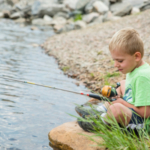 Learning how to fish brings a lifetime of fun. (Courtesy of Colorado Parks & Wildlife)