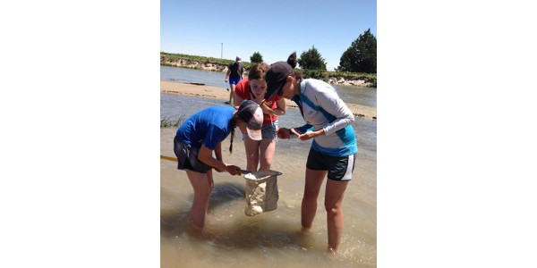 ACE Camp gets students outdoors to explore the world around them. (Courtesy of Nebraska Association of Resources Districts)
