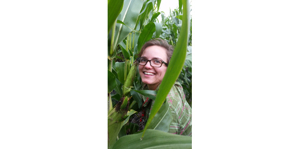Emily Waring, Graduate Research Assistant at Iowa State University, will present the current results from the research project. (Courtesy of Iowa Learning Farms)