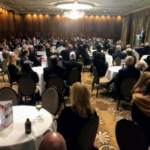 More than 250 farmers, ranchers, ag professionals and local business professionals gathered on May 9 to recognize some of the best and brightest individuals in Colorado agriculture. (Courtesy of Colorado Farm Bureau)
