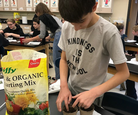 Farm to School in Seneca County: seed to harvest project hghlighted