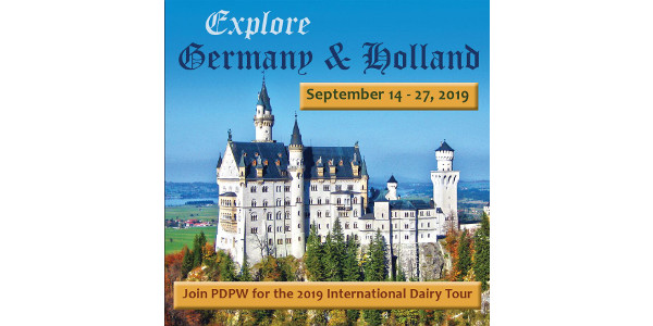 History, culture and dairy will combine in a once-in-a-lifetime opportunity to tour the cities and countryside of Germany and Holland with the 2019 PDPW International Dairy Tour: Germany + Holland presented by the Professional Dairy Producers® (PDPW). (Courtesy of PDPW)