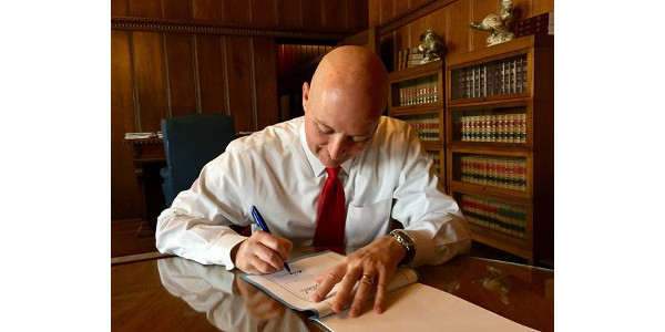 Gov. Ricketts signs $550 million of property tax relief into law. (Courtesy of Office of Governor Pete Ricketts)