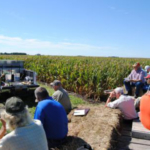 Daniel J. Robison, holder of the Endowed Dean's Chair in the College of Agriculture and Life Sciences at Iowa State University, will welcome farmers and agribusinesses to the Northern Research and Demonstration Farm field day June 20. (Courtesy of ISU Extension and Outreach)