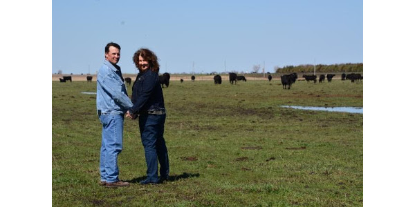South Dakota Farmers Union has served South Dakota farm and ranch families for more than a century. Throughout the year, we share their stories in order to highlight the families who make up our state's No. 1 industry and help feed the world. This month we highlight Mike Miller and Michelle Friesen. The couple have farmed together near Freeman since they married in 1996. They raise corn, soybeans, a cow/calf herd and feeder operation. (Courtesy of SDFU)