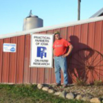 Keota-area farmer Tim Sieren, of Green Iron Farms, will host a Practical Farmers of Iowa field day exploring cover crops and diversified crop rotations on Thursday, June 20, from 5-8 p.m., on his farm near Keota. (Courtesy of Practical Farmers of Iowa)