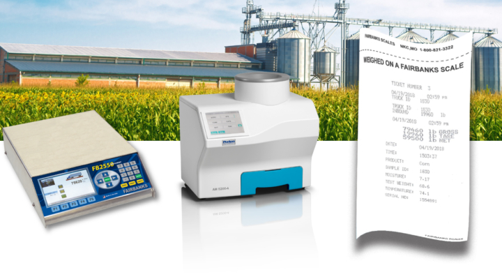 Fairbanks Scales Inc., the oldest scale company in the U.S. and the world's leader in weighing equipment, announces that its FB2558 instrument is now integrated with the Perten AM 5200-A Grain Moisture Tester. (Courtesy of Fairbanks Scales)