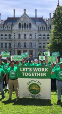 Farmers visit Albany to find common ground on legislation