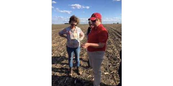 Agronomy in the Field is a multi-session workshop offered to women landowners, farmers, conservationists and other women who are interested in learning more about agronomy. (Courtesy of Iowa State University Extension and Outreach)