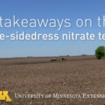The availability of new technology for rapidly analyzing soil samples for nitrate in recent years has led to renewed interest in using the pre-sidedress nitrate test -- PSNT -- as a method for prescribing variable-rate nitrogen. (Screenshot from video)