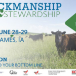 In just a few short weeks, industry leaders from all over the country will be coming to Ames for the Upper Midwest Stockmanship and Stewardship event.