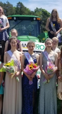 Dairy royalty crowned in Erie County