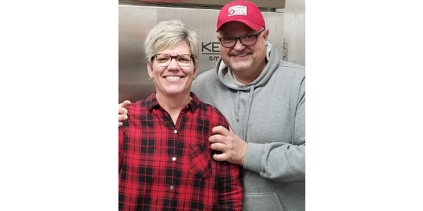 The Farm, Food and Enterprise Development Program helped Shaughn and Jerry Roorda of In't Veld Meat Market in Pella, Iowa, analyze their business and make a plan for expansion. (Photo supplied by the Roordas)