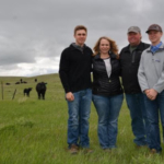 South Dakota Farmers Union has served South Dakota farm and ranch families for more than a century. Throughout the year, we share their stories in order to highlight the families who make up our state's No. 1 industry and help feed the world. This month we highlight the Beitelspacher family who farms near Bowdle, Bryce, Tara, Mark and Brady. (Lura Roti for SDFU)
