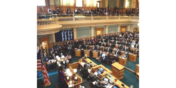 The 2019 Colorado General Assembly Legislative Session concluded on May 3rd. (Courtesy of CNGA)