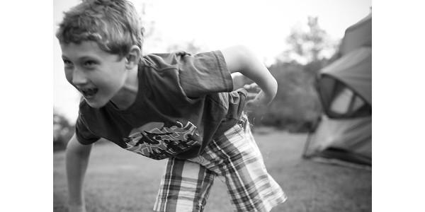 A child playing freeze tag. (Nicki Dugan Pogue via Flickr)