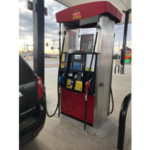 Fuel pump at Casey's Dodge City location offering ethanol blends to customers. (Courtesy of Kansas Corn)