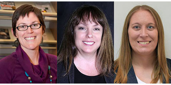 From left to right, Heather Allen, Jo Anne Crouch and Sara Lupton. (Courtesy of USDA)